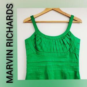Marvin Richards Dress Kelly Green Size 8